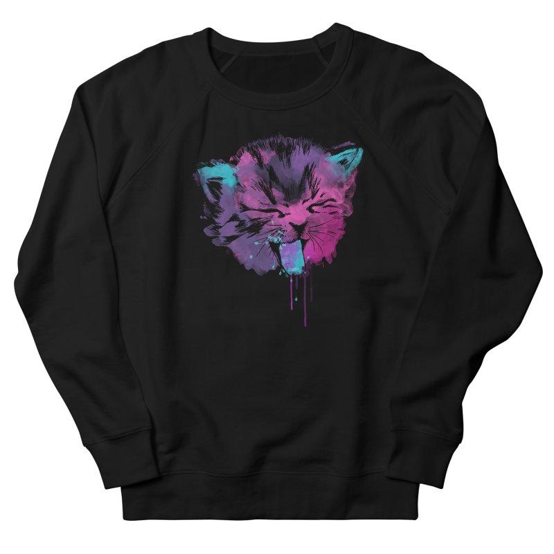 CAT SPLASH Women's Sweatshirt by Winterglaze's Artist Shop