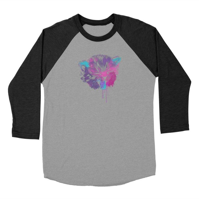 CAT SPLASH Women's Baseball Triblend Longsleeve T-Shirt by Winterglaze's Artist Shop
