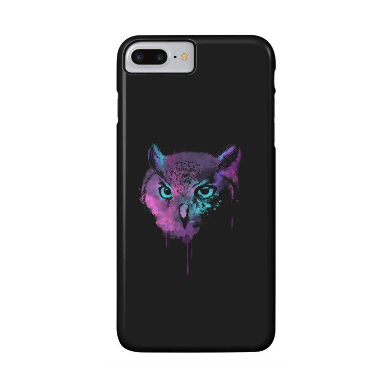 OWL SPLASH Accessories Phone Case by Winterglaze's Artist Shop