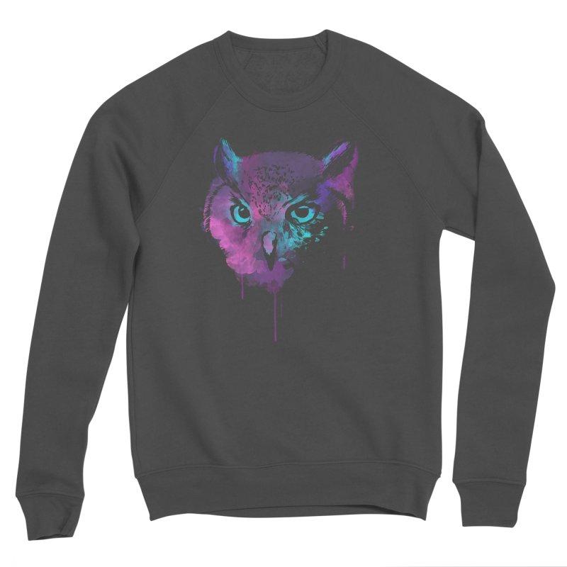 OWL SPLASH Women's Sponge Fleece Sweatshirt by Winterglaze's Artist Shop