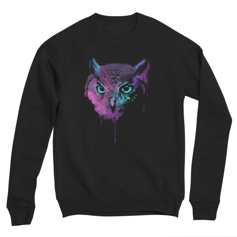 OWL SPLASH Women's Sweatshirt by Winterglaze's Artist Shop
