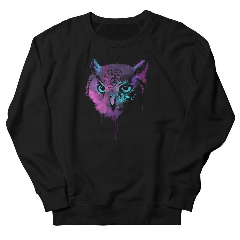 OWL SPLASH Men's Sweatshirt by Winterglaze's Artist Shop