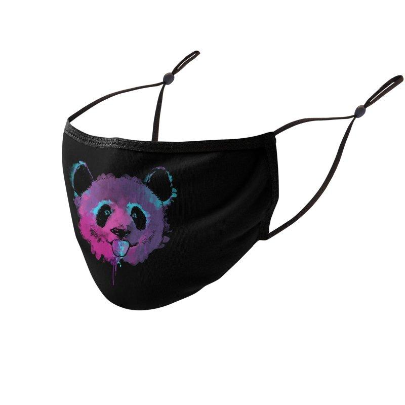 PANDA SPLASH Accessories Face Mask by Winterglaze's Artist Shop