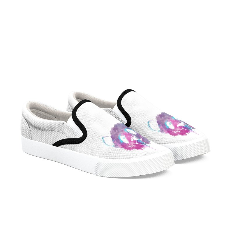 PANDA SPLASH Men's Shoes by Winterglaze's Artist Shop