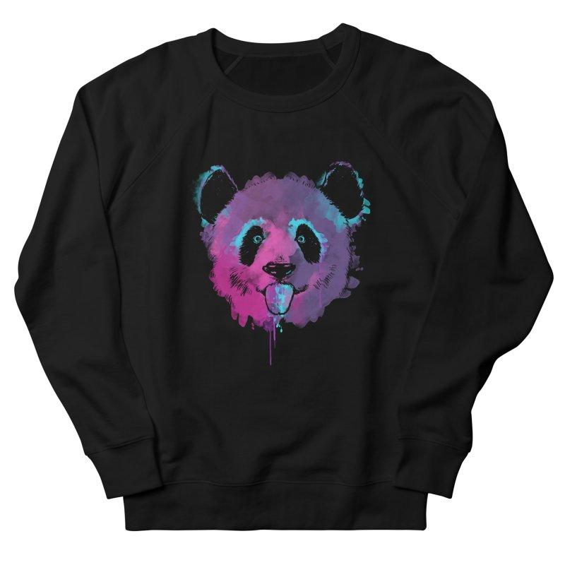 PANDA SPLASH Men's Sweatshirt by Winterglaze's Artist Shop
