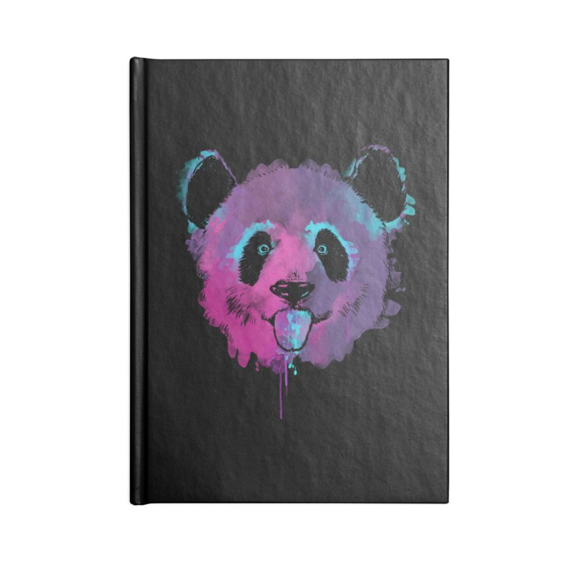 PANDA SPLASH Accessories Notebook by Winterglaze's Artist Shop