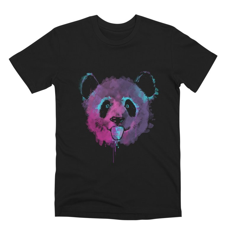 PANDA SPLASH Men's Premium T-Shirt by Winterglaze's Artist Shop