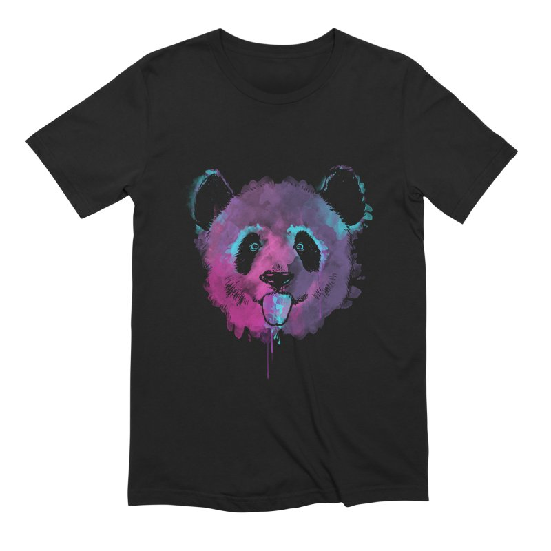 PANDA SPLASH Men's Extra Soft T-Shirt by Winterglaze's Artist Shop