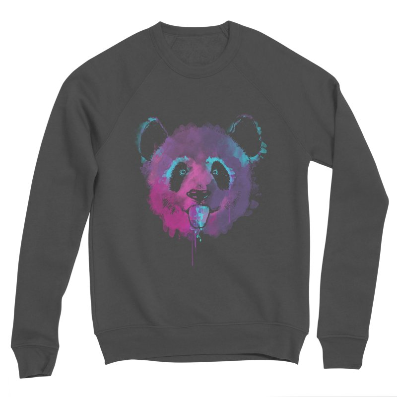 PANDA SPLASH Men's Sponge Fleece Sweatshirt by Winterglaze's Artist Shop