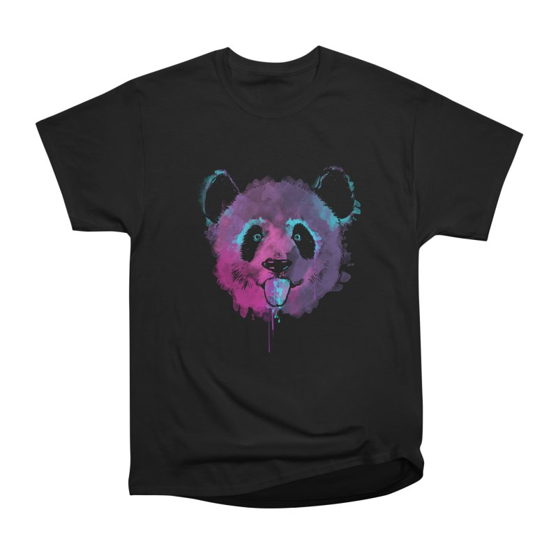 PANDA SPLASH Women's Heavyweight Unisex T-Shirt by Winterglaze's Artist Shop