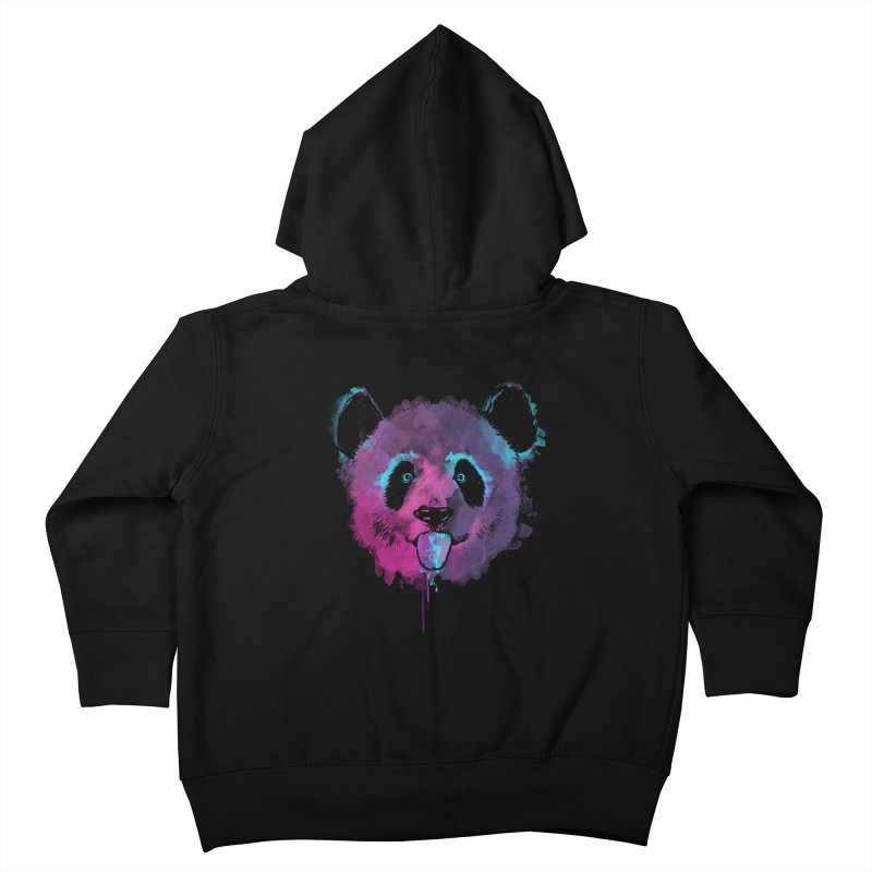 PANDA SPLASH Kids Toddler Zip-Up Hoody by Winterglaze's Artist Shop