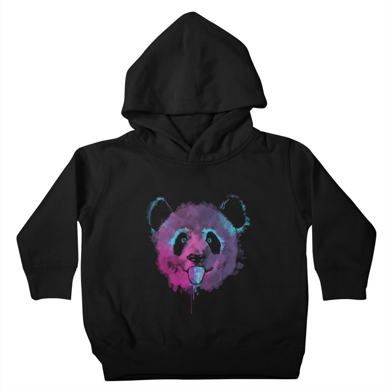 PANDA SPLASH Kids Toddler Pullover Hoody by Winterglaze's Artist Shop
