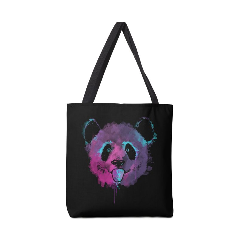 PANDA SPLASH Accessories Bag by Winterglaze's Artist Shop