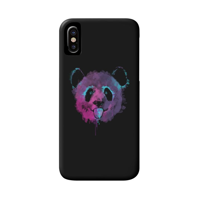 PANDA SPLASH Accessories Phone Case by Winterglaze's Artist Shop