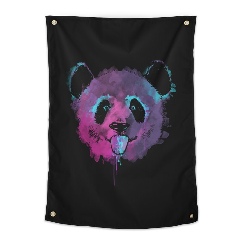PANDA SPLASH Home Tapestry by Winterglaze's Artist Shop