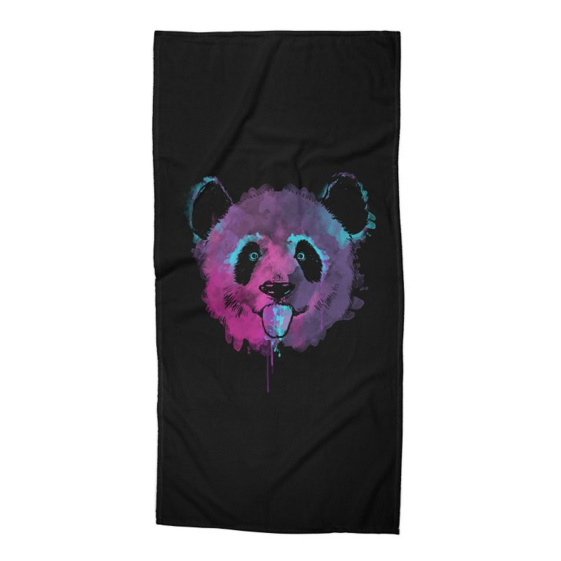 PANDA SPLASH Accessories Beach Towel by Winterglaze's Artist Shop