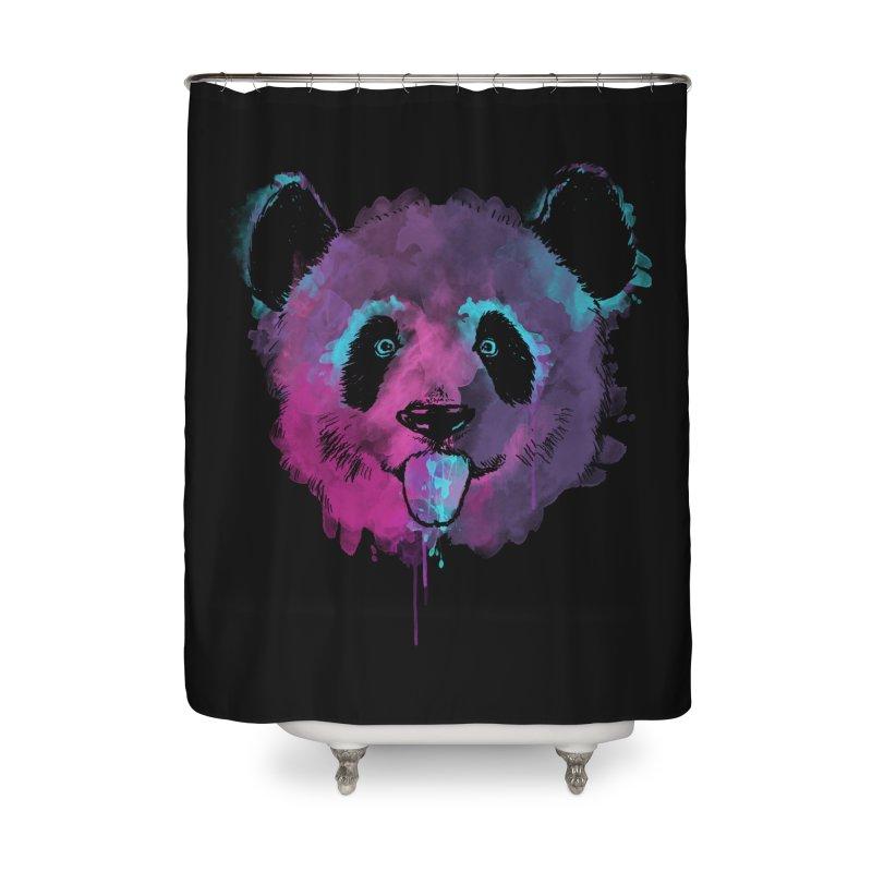 PANDA SPLASH Home Shower Curtain by Winterglaze's Artist Shop