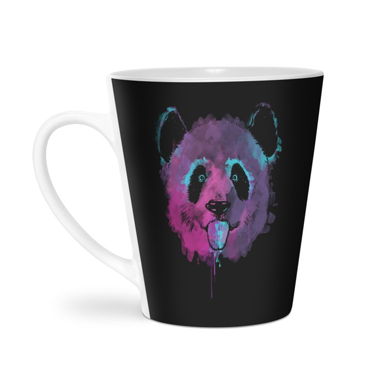PANDA SPLASH Accessories Latte Mug by Winterglaze's Artist Shop