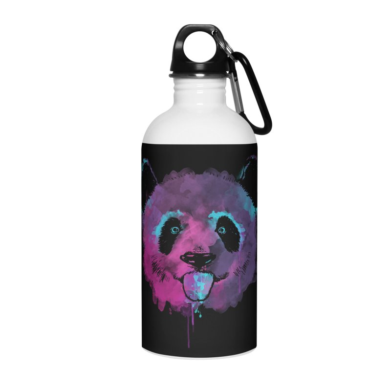 PANDA SPLASH Accessories Water Bottle by Winterglaze's Artist Shop