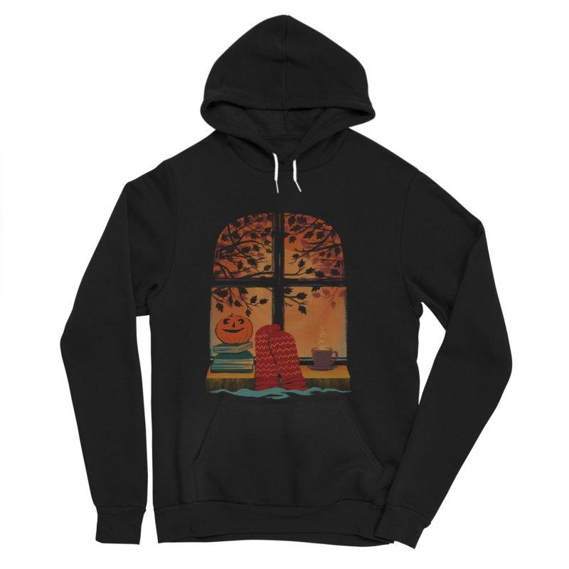 AUTUMN FEELS Men's Pullover Hoody by Winterglaze's Artist Shop