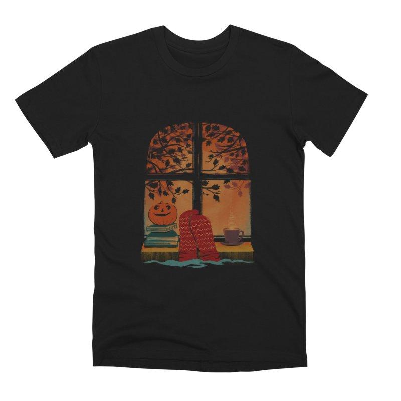 AUTUMN FEELS Men's T-Shirt by Winterglaze's Artist Shop