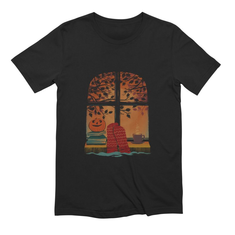 AUTUMN FEELS Men's Extra Soft T-Shirt by Winterglaze's Artist Shop