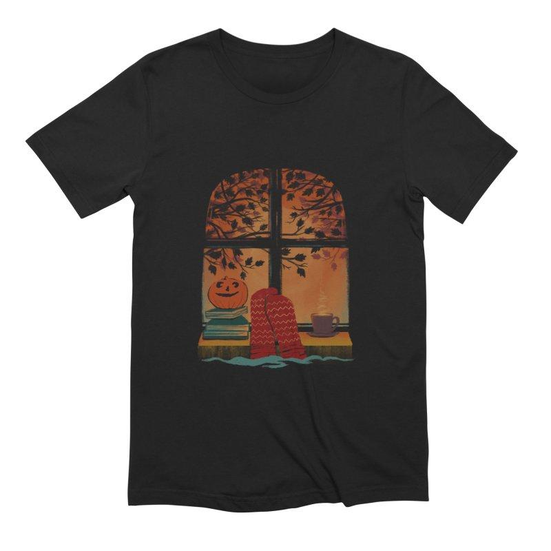 AUTUMN FEELS Men's Extra Soft T-Shirt by Winterglaze's Artist Shop