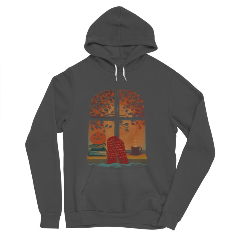 AUTUMN FEELS Men's Sponge Fleece Pullover Hoody by Winterglaze's Artist Shop