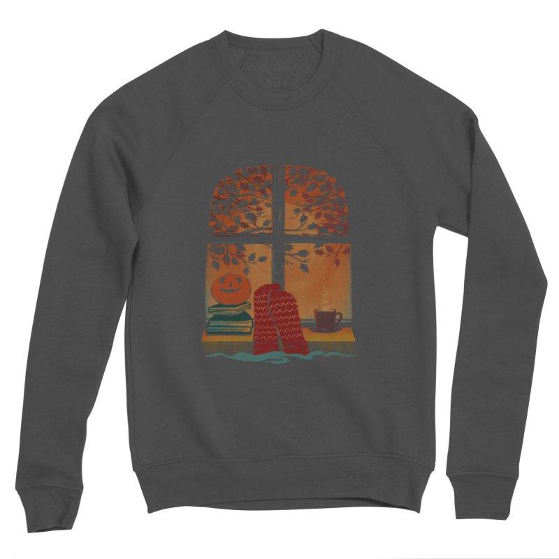 AUTUMN FEELS Women's Sponge Fleece Sweatshirt by Winterglaze's Artist Shop