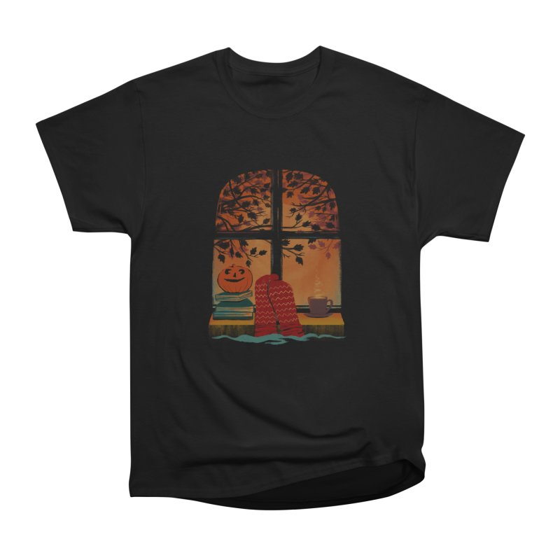 AUTUMN FEELS Women's Heavyweight Unisex T-Shirt by Winterglaze's Artist Shop