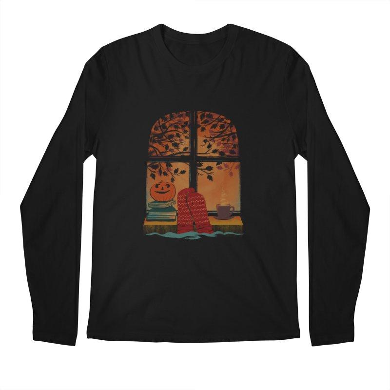 AUTUMN FEELS Men's Regular Longsleeve T-Shirt by Winterglaze's Artist Shop
