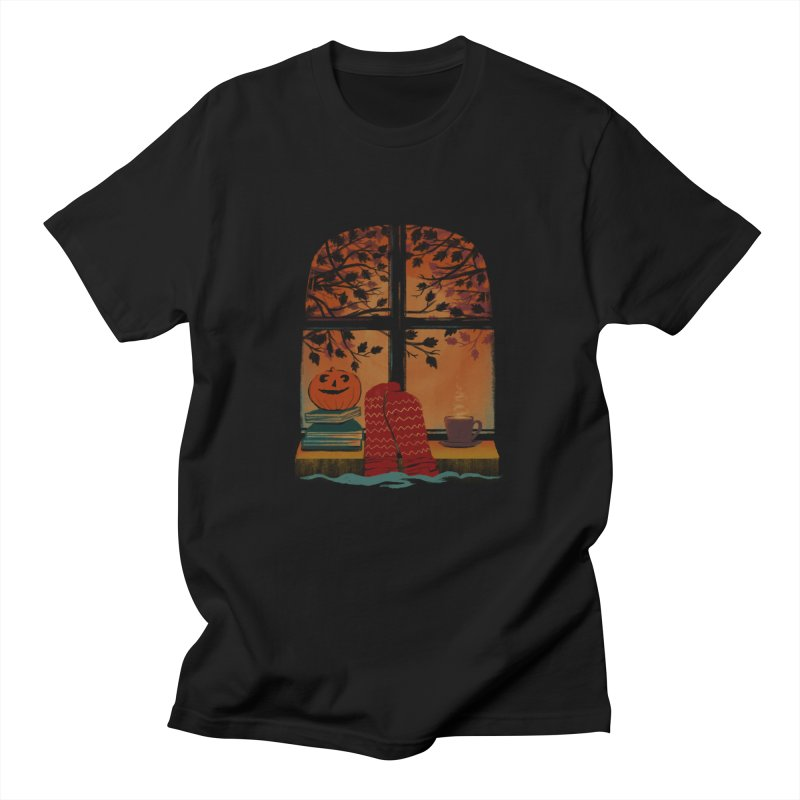 AUTUMN FEELS Men's Regular T-Shirt by Winterglaze's Artist Shop
