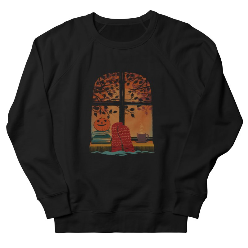 AUTUMN FEELS Women's French Terry Sweatshirt by Winterglaze's Artist Shop
