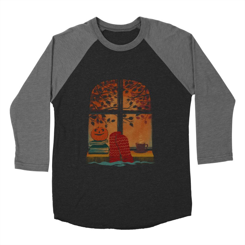 AUTUMN FEELS Men's Baseball Triblend Longsleeve T-Shirt by Winterglaze's Artist Shop
