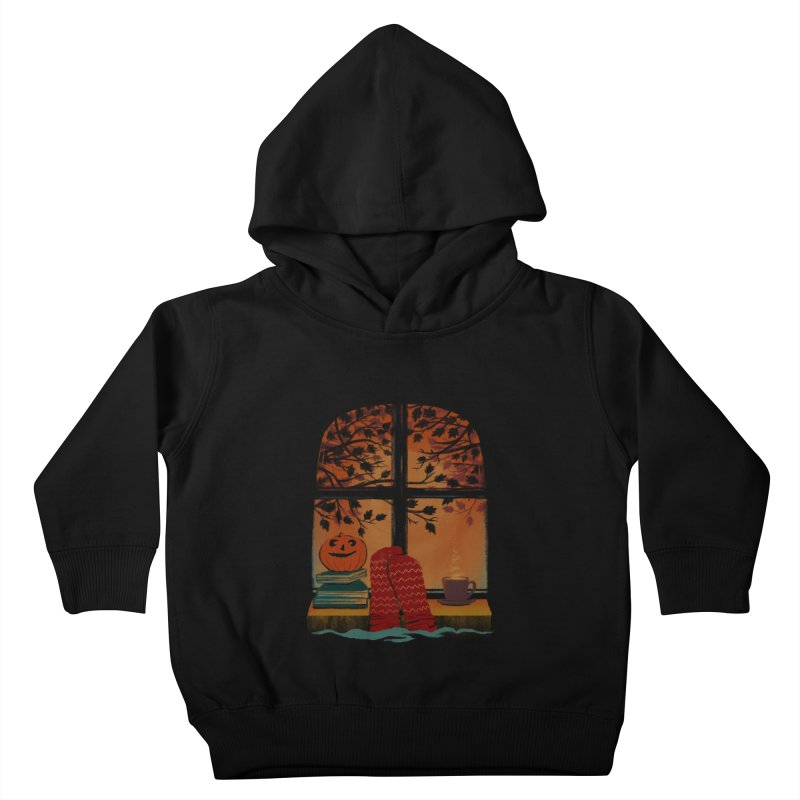 AUTUMN FEELS Kids Toddler Pullover Hoody by Winterglaze's Artist Shop
