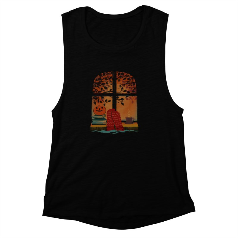 AUTUMN FEELS Women's Muscle Tank by Winterglaze's Artist Shop
