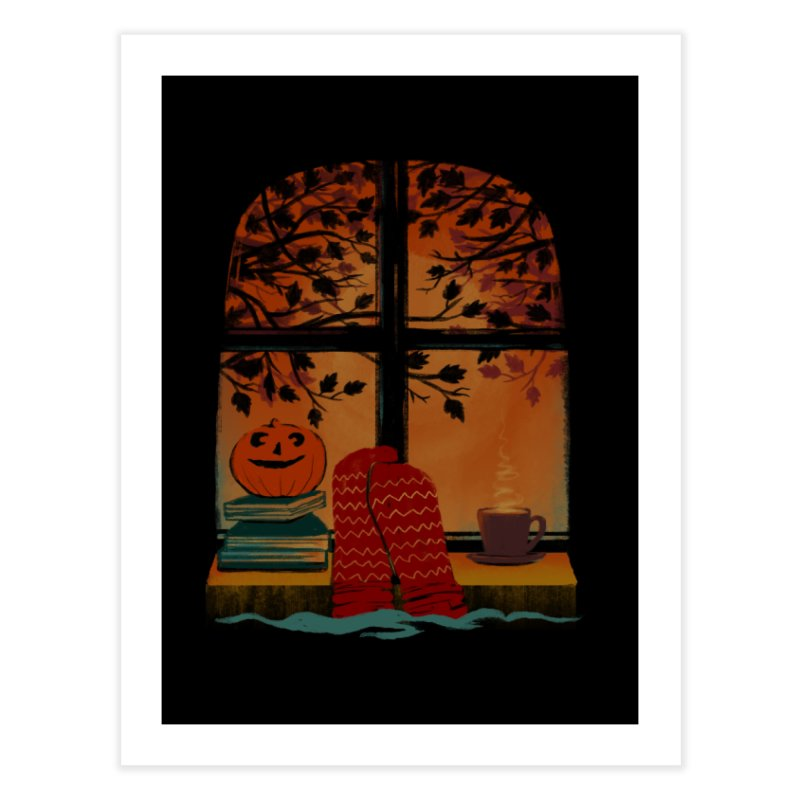 AUTUMN FEELS Home Fine Art Print by Winterglaze's Artist Shop