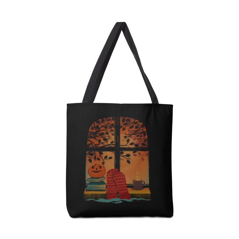 AUTUMN FEELS Accessories Bag by Winterglaze's Artist Shop