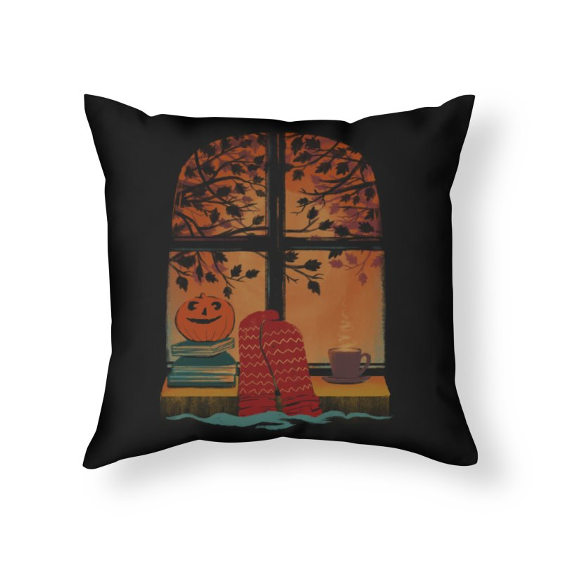 AUTUMN FEELS Home Throw Pillow by Winterglaze's Artist Shop