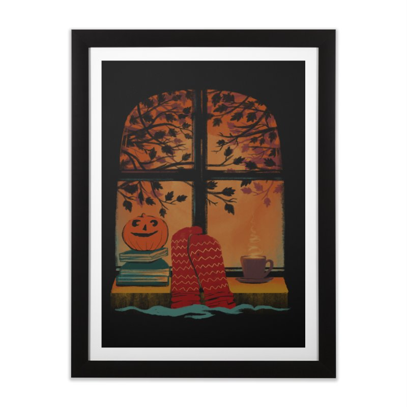 AUTUMN FEELS Home Framed Fine Art Print by Winterglaze's Artist Shop