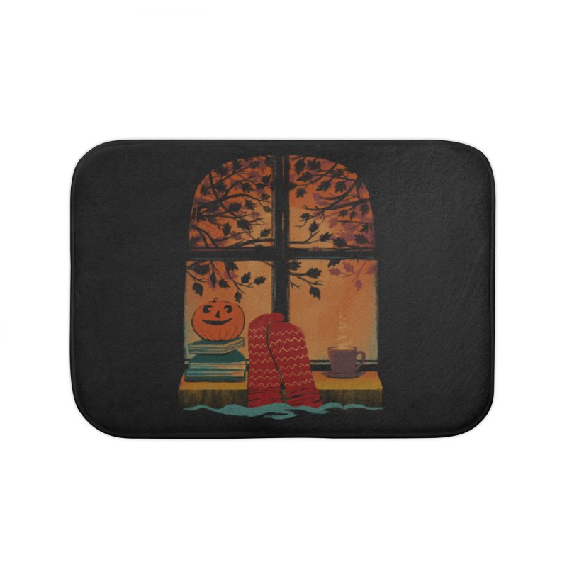 AUTUMN FEELS Home Bath Mat by Winterglaze's Artist Shop