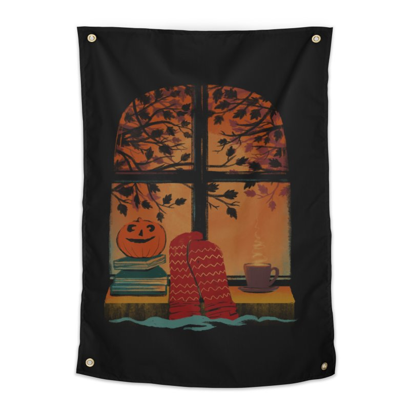 AUTUMN FEELS Home Tapestry by Winterglaze's Artist Shop