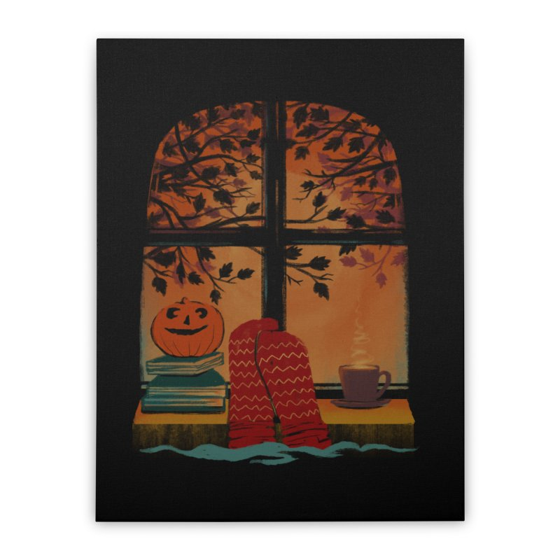 AUTUMN FEELS Home Stretched Canvas by Winterglaze's Artist Shop