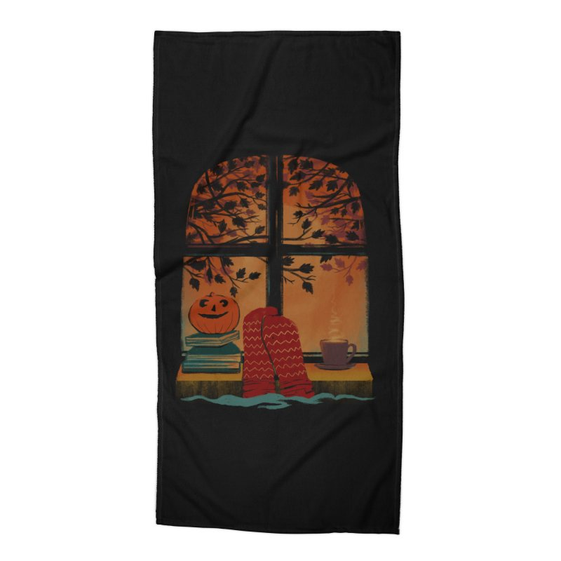 AUTUMN FEELS Accessories Beach Towel by Winterglaze's Artist Shop