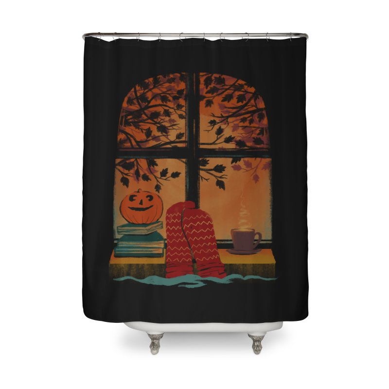 AUTUMN FEELS Home Shower Curtain by Winterglaze's Artist Shop