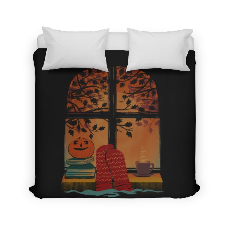 AUTUMN FEELS Home Duvet by Winterglaze's Artist Shop