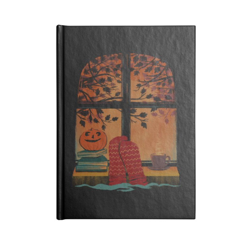 AUTUMN FEELS Accessories Notebook by Winterglaze's Artist Shop