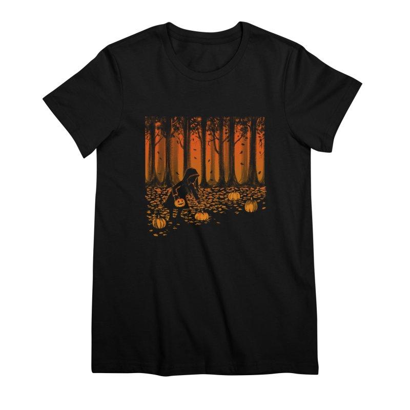 PICKIN' PUMPKIN Women's T-Shirt by Winterglaze's Artist Shop