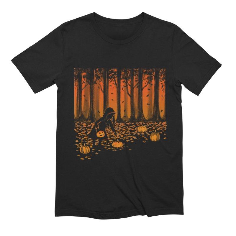 PICKIN' PUMPKIN Men's T-Shirt by Winterglaze's Artist Shop