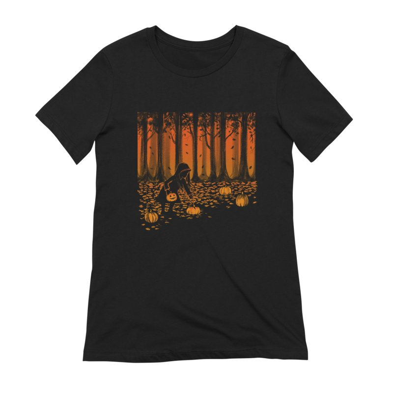 PICKIN' PUMPKIN Women's Extra Soft T-Shirt by Winterglaze's Artist Shop